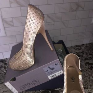 JLo Blingy Blush 8.5- BRAND NEW